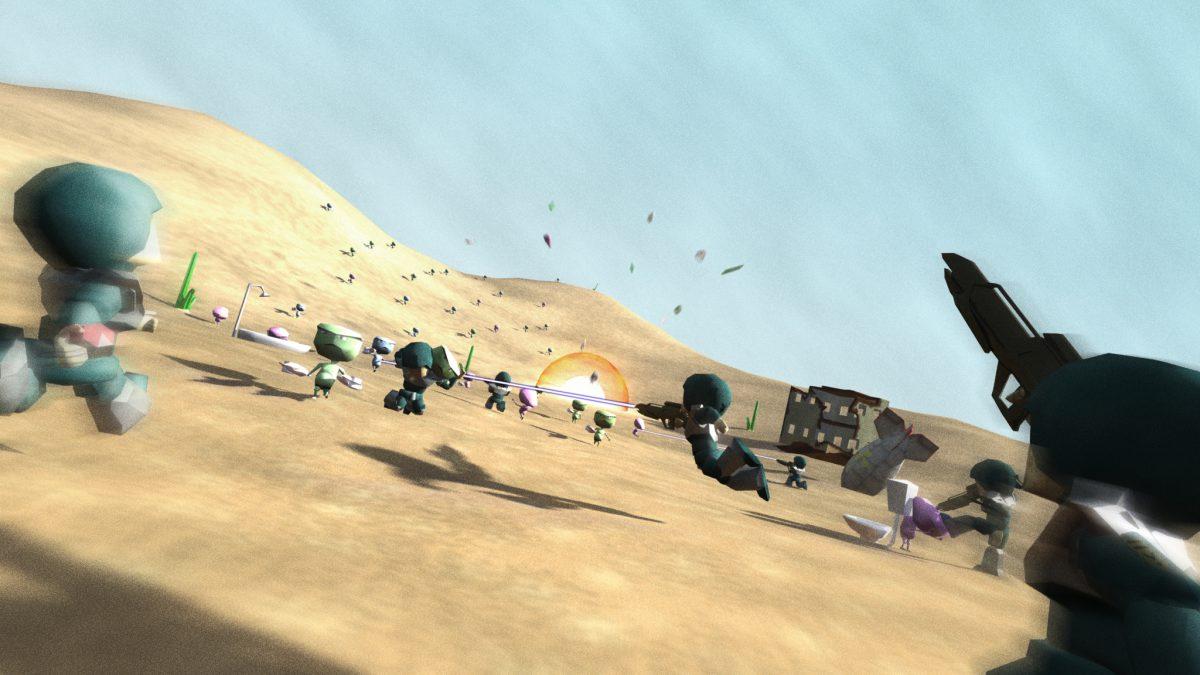 Assault - 3D render, 3d, digital, ch3