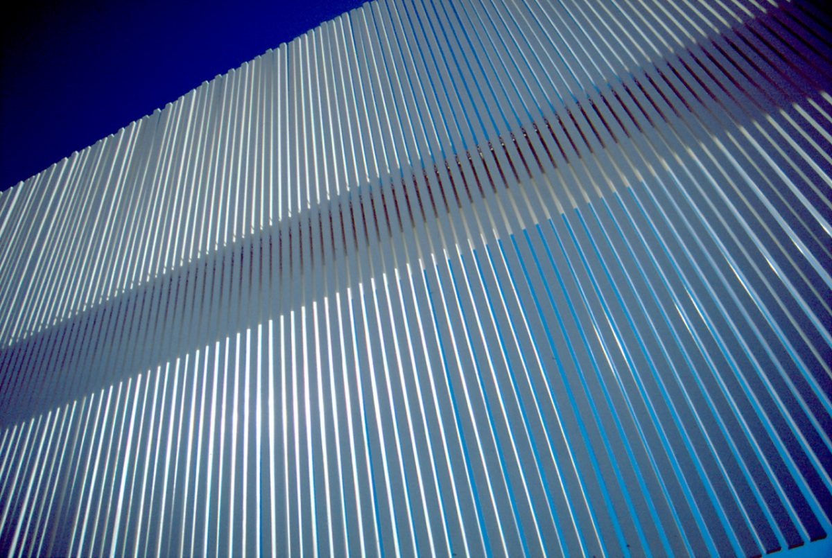 The Wall of Nations - By Santiago Calatrava for the 2004 Olympic games, design, stadium