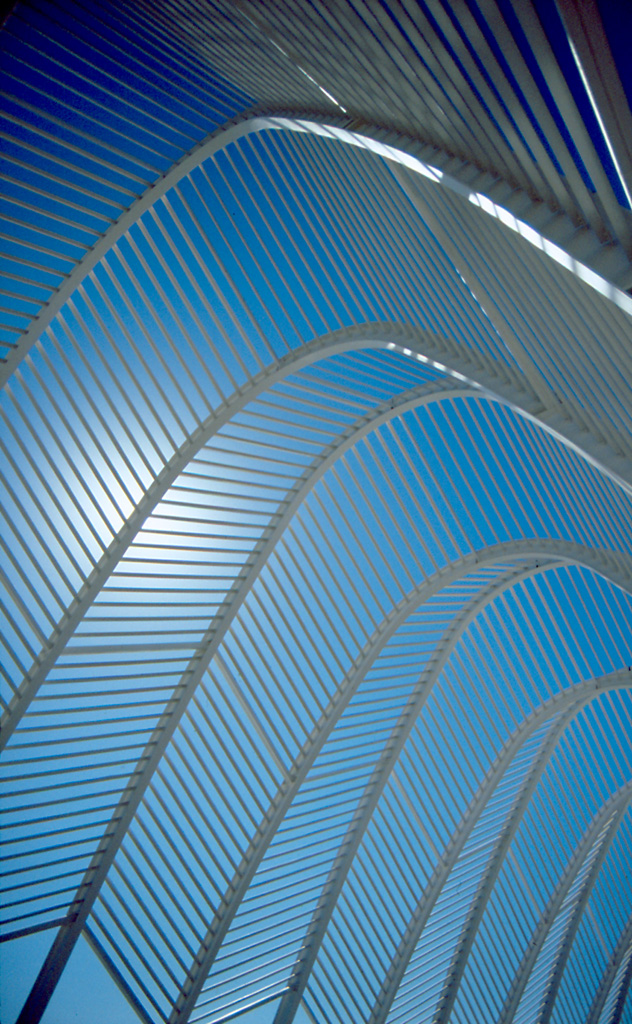 Walkway - By Santiago Calatrava for the 2004 Olympic games, design, stadium