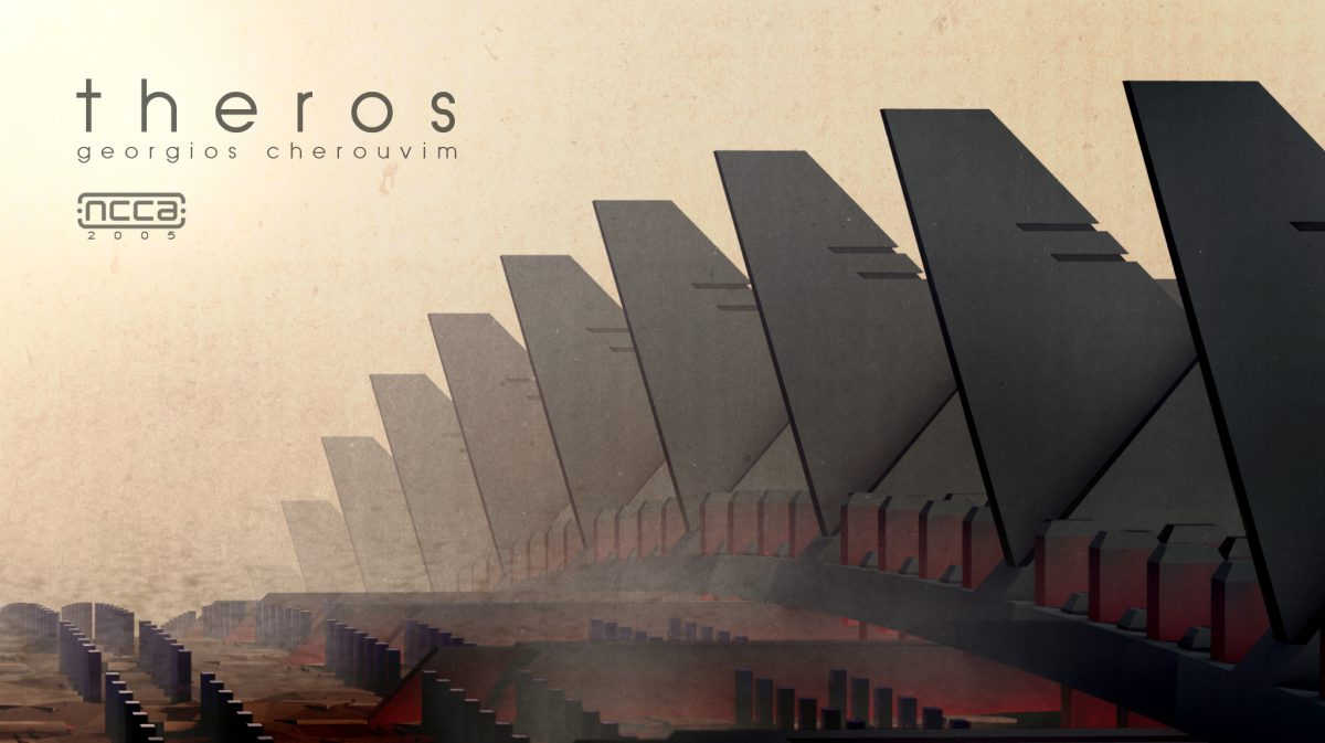 Theros - Cover image for final year major project, 3d, cover, ch3