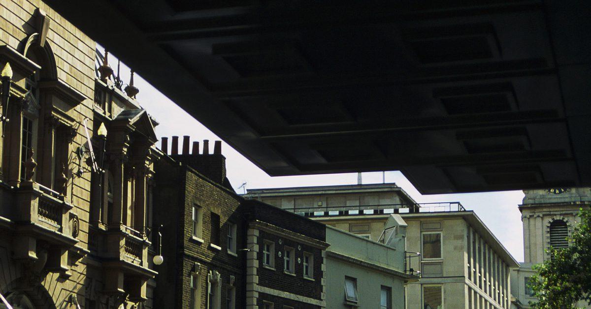 building, contrast