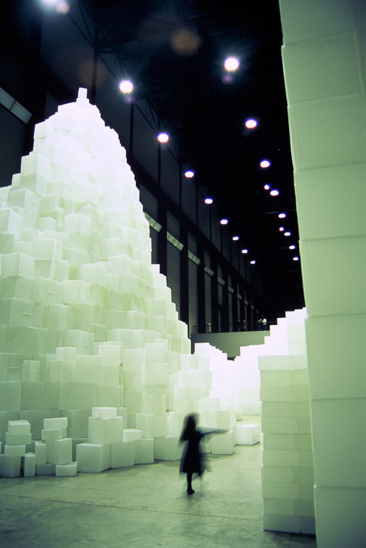 Installation - Instalation by Rachel Whiteread at Tate Modern, kid, art, sculpture