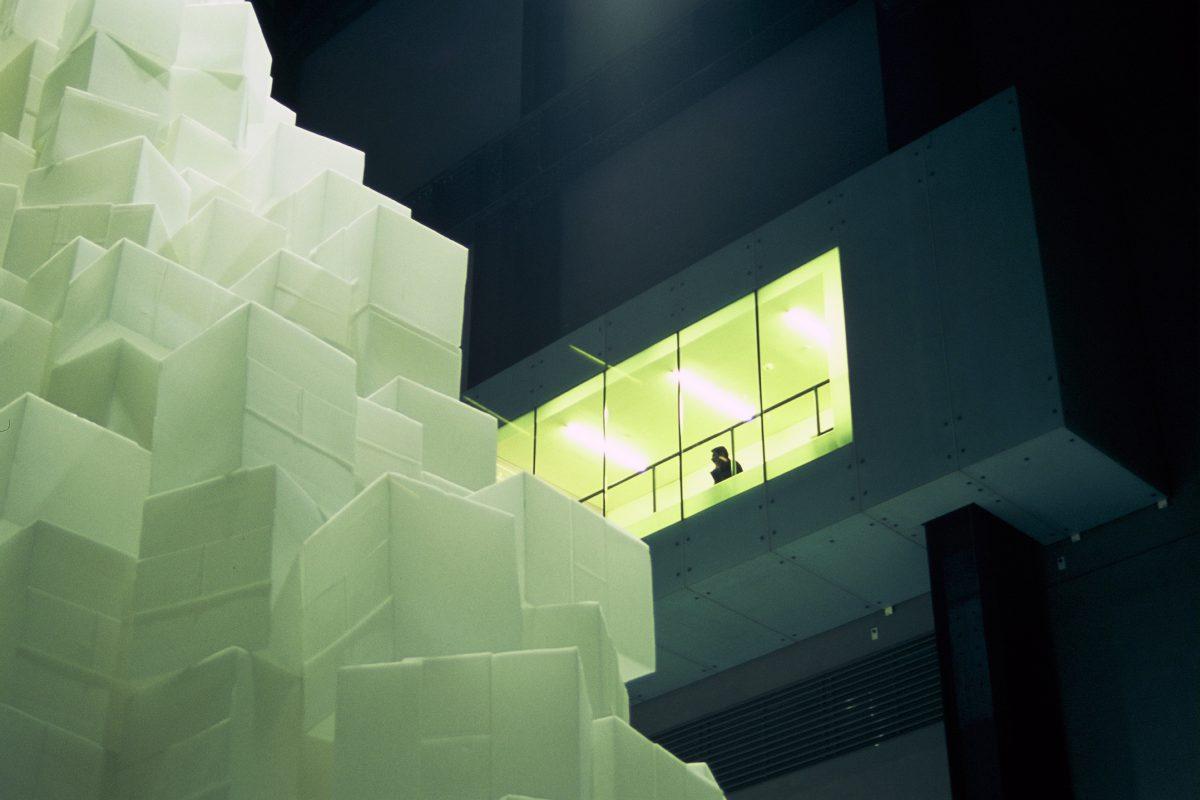 Installation - Instalation by Rachel Whiteread at Tate Modern, art, sculpture