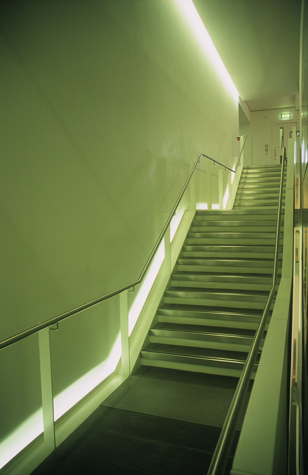 Staircase - At the Architecture Center, stair