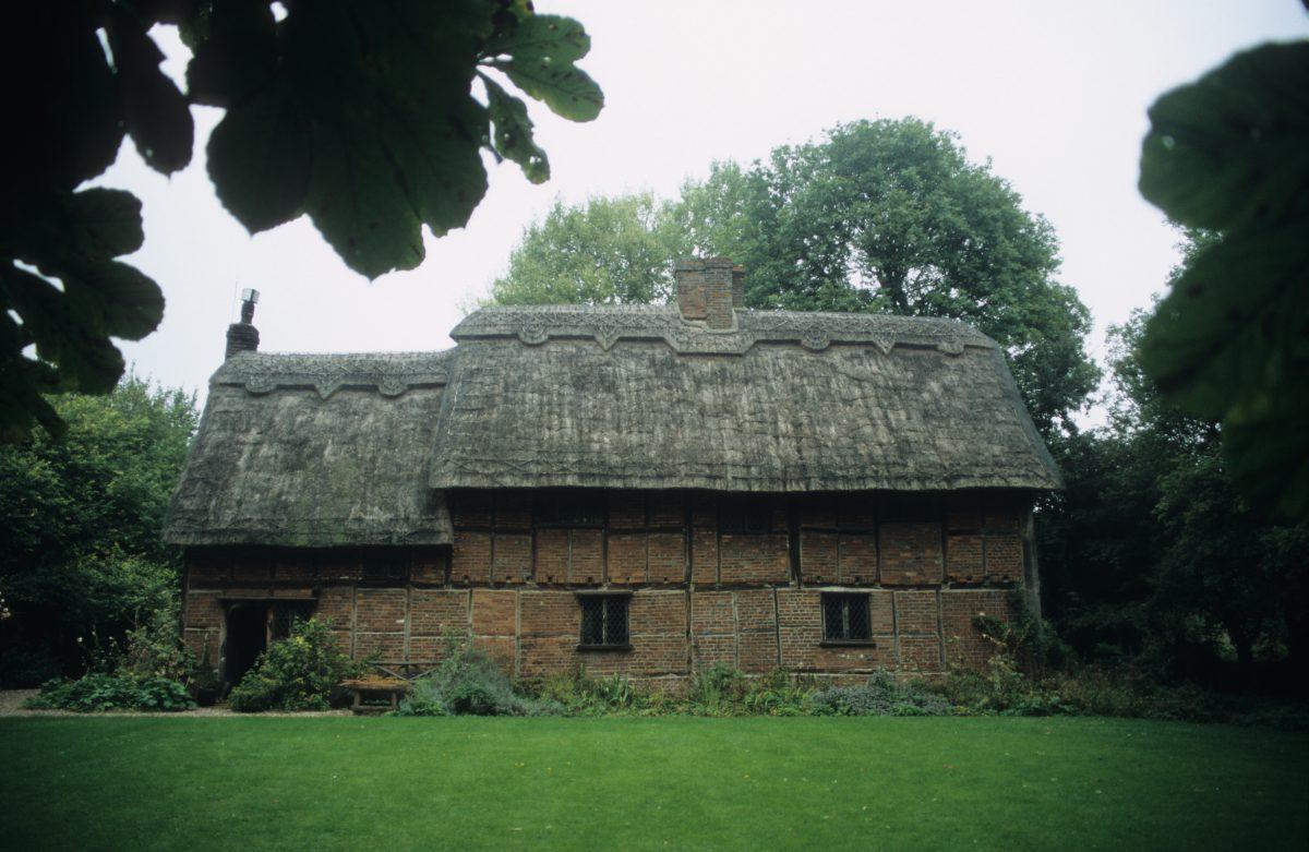 House - 16th century, house, tree