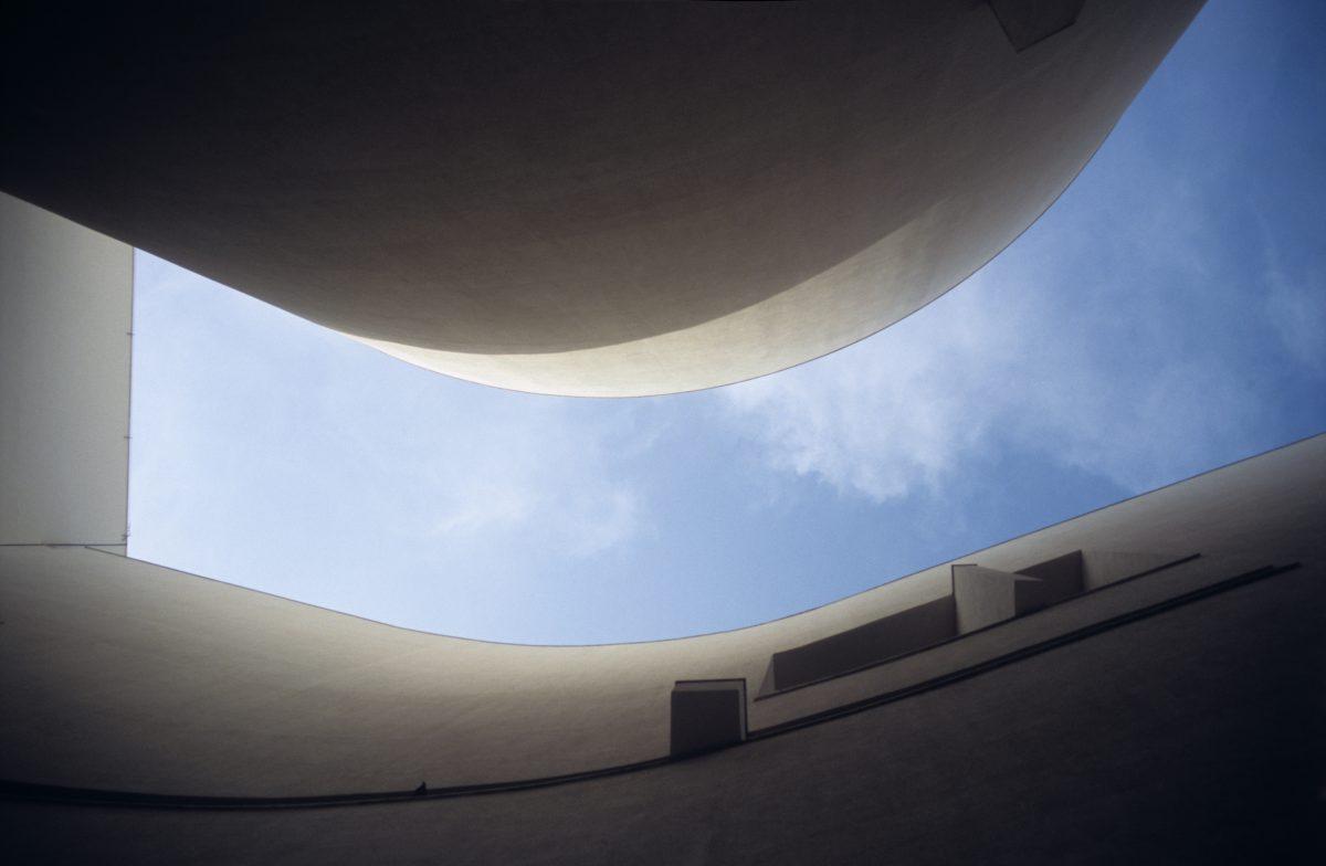 Negative space - Museum of Contemporary Art, sky, building