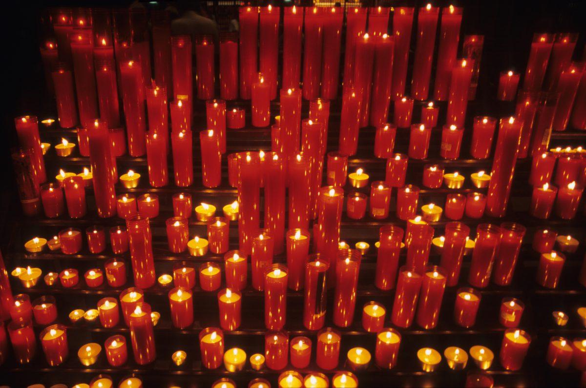 light, fire, many