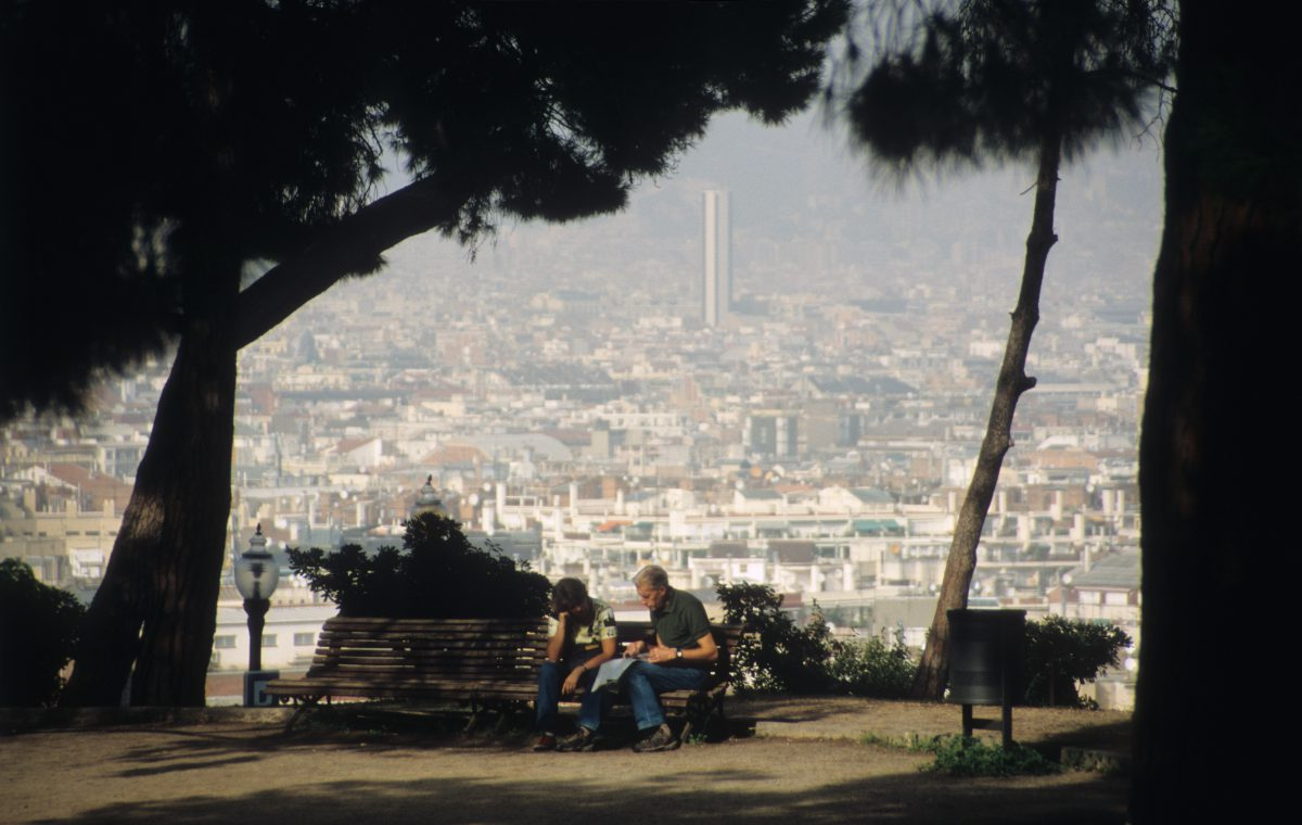 view, people, relax, city