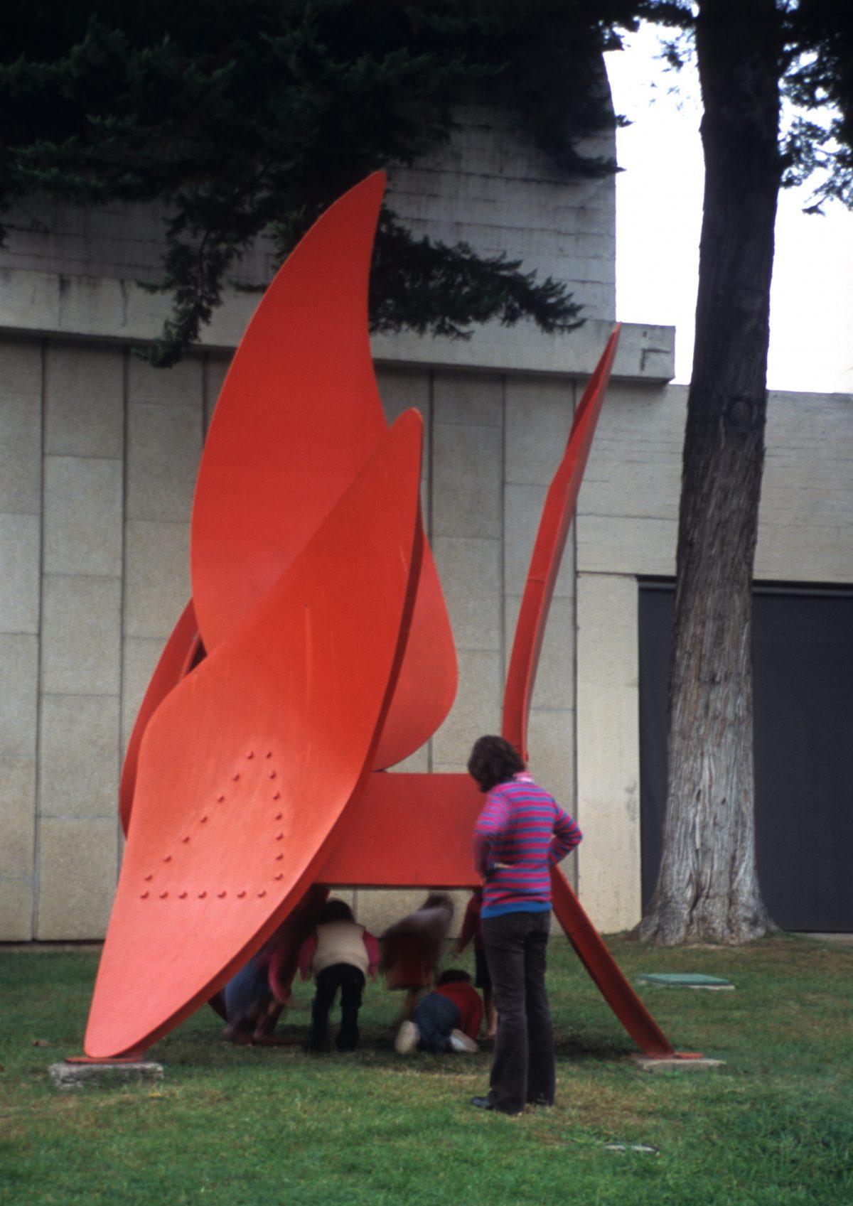 Miro Museum - Joan Miró Foundation, female, art, kid, game, sculpture