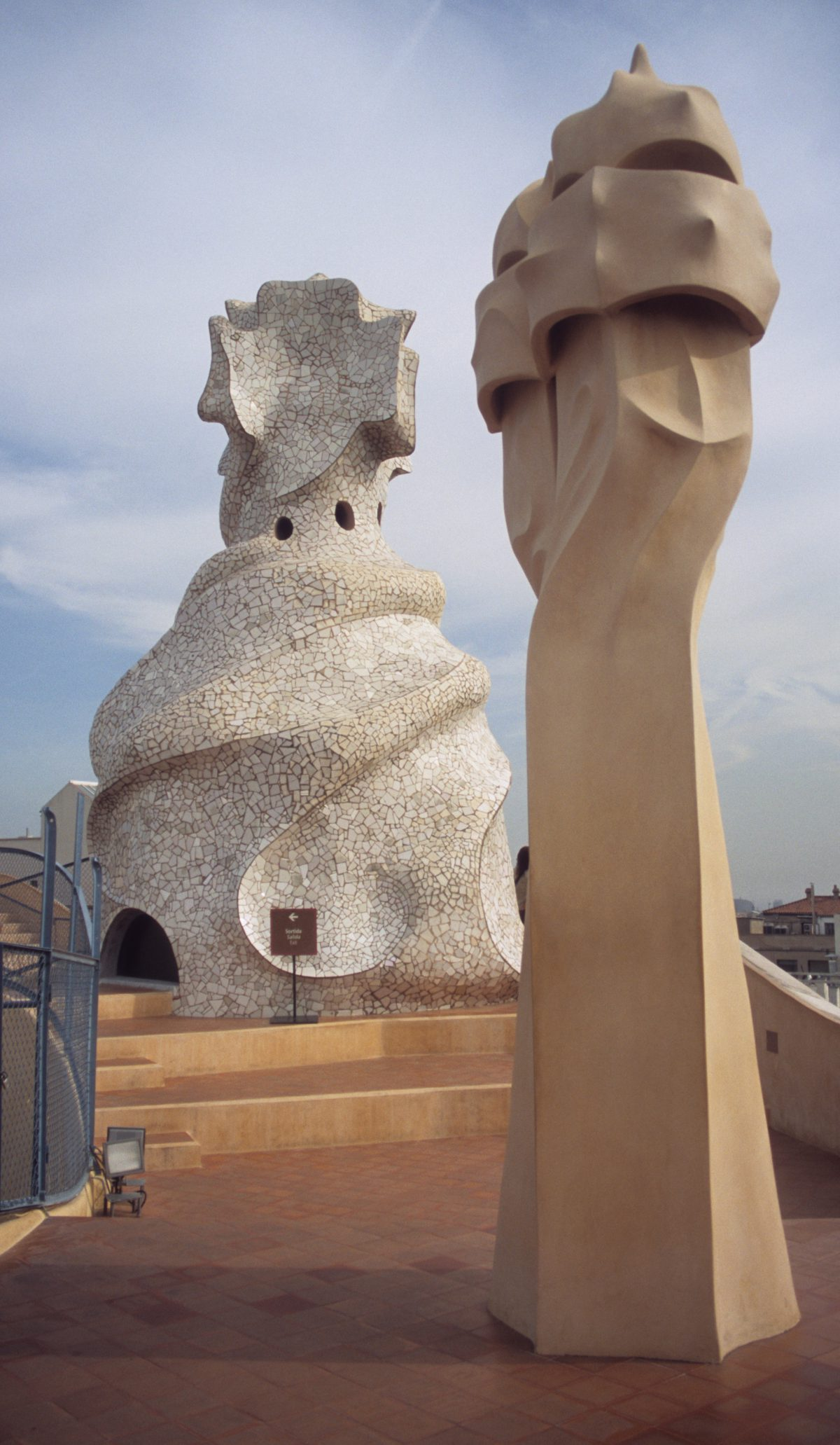 Casa Milà - Gaudí chimneys, art, chimney, sculpture