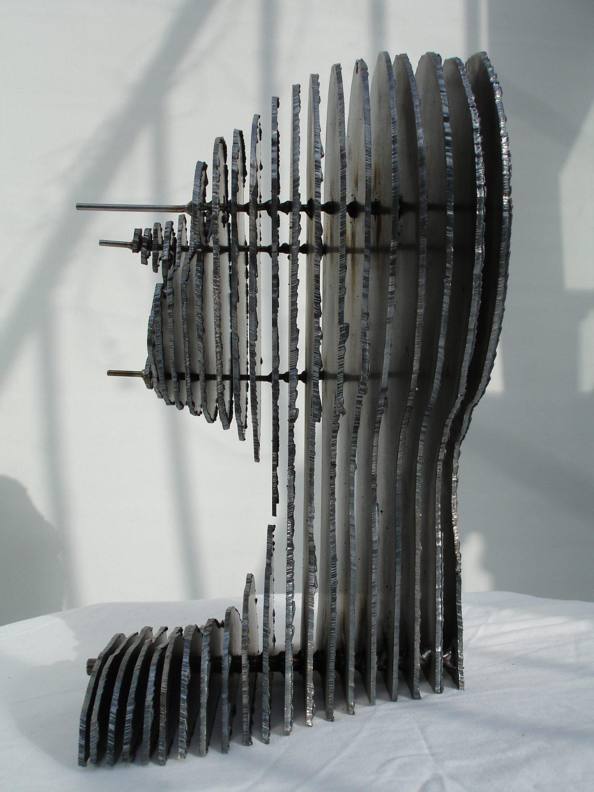 George - 35cm steel. Side view