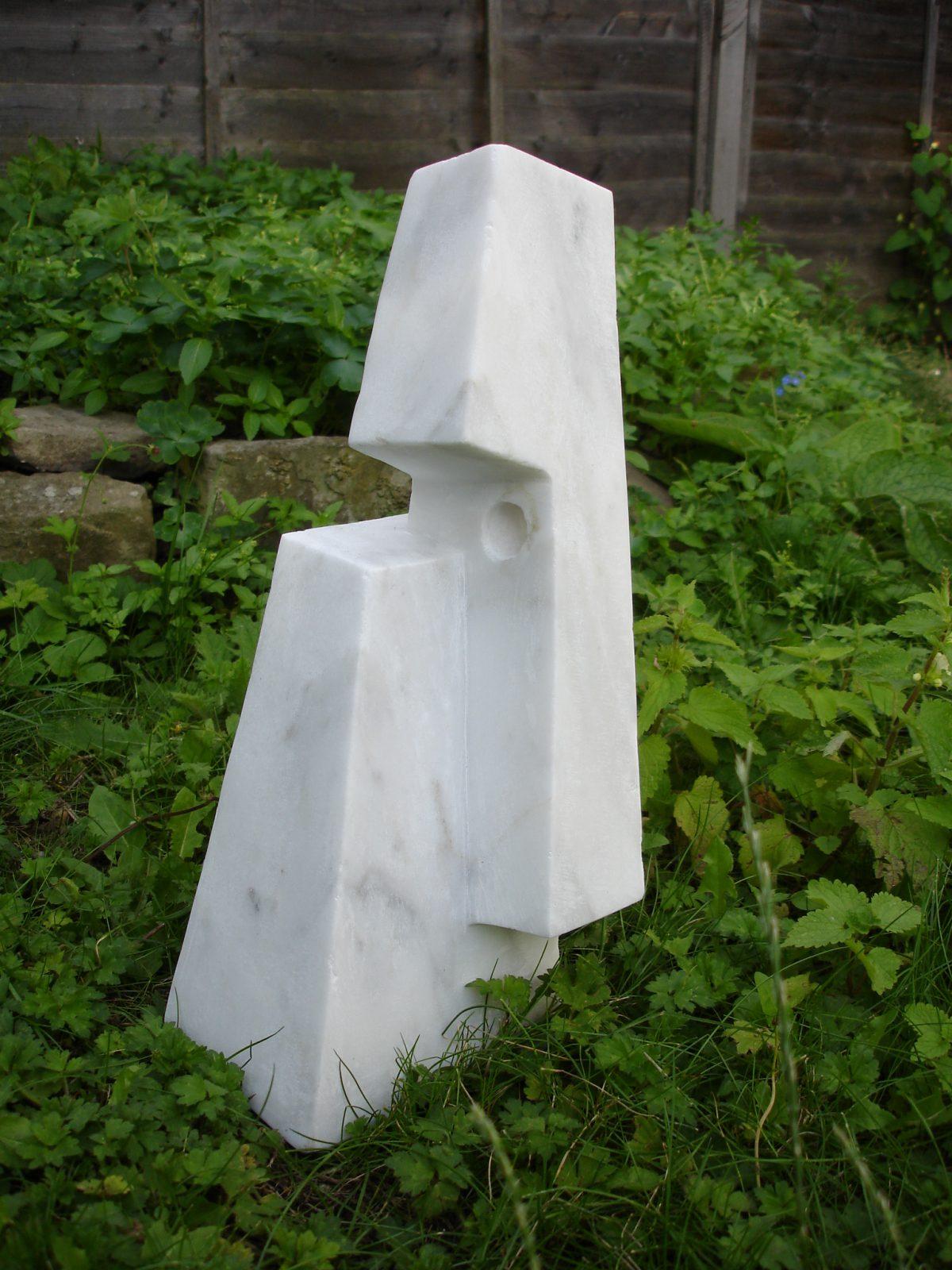 Head - 40cm Pentelic marble
