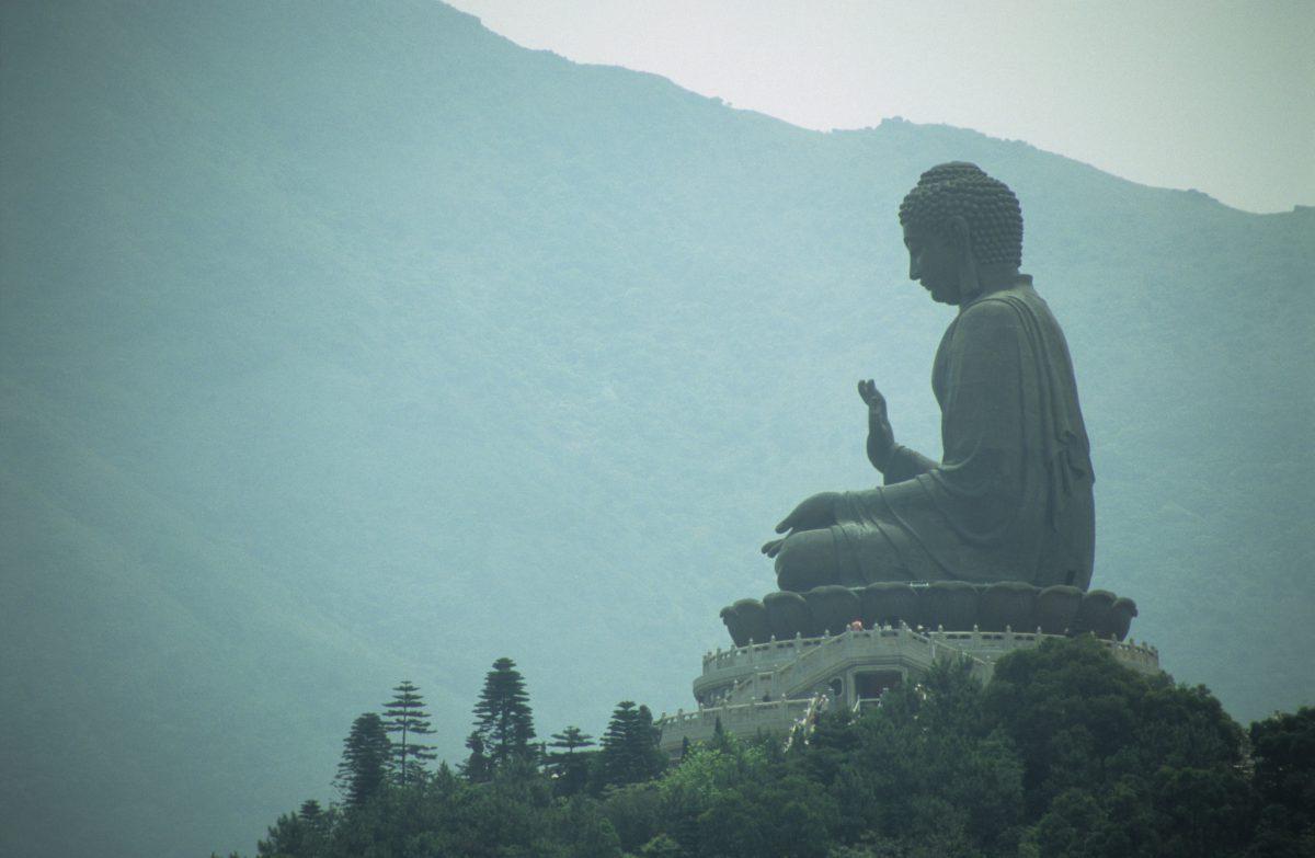 Tian Tan Buddha, landmark, forest