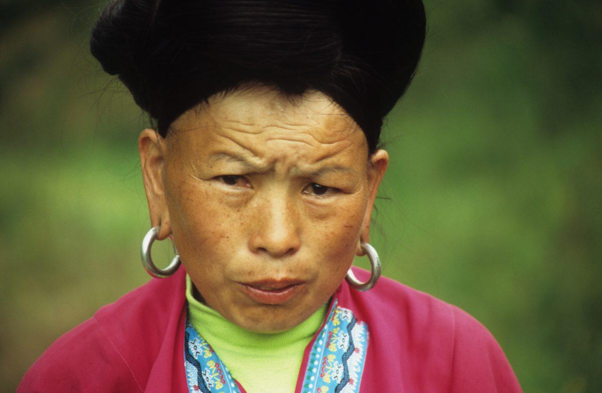 female, face, color, cloth