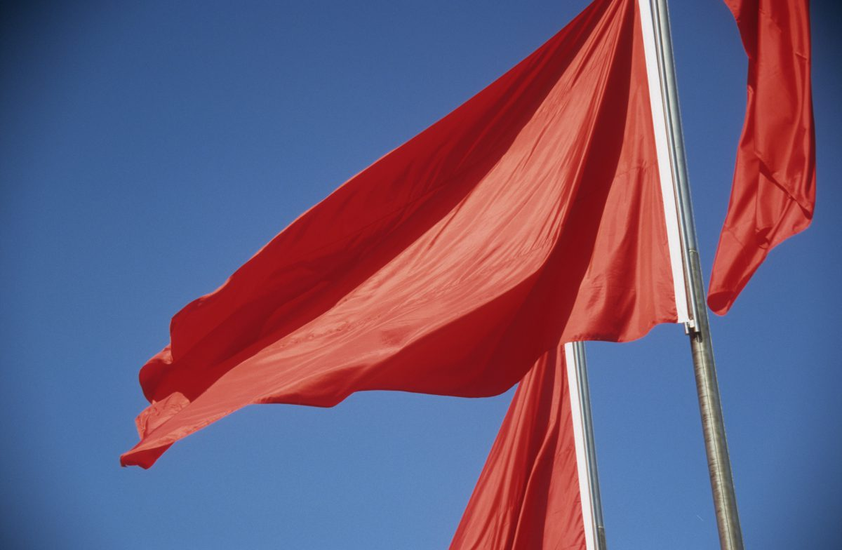 Red flags, color, flag