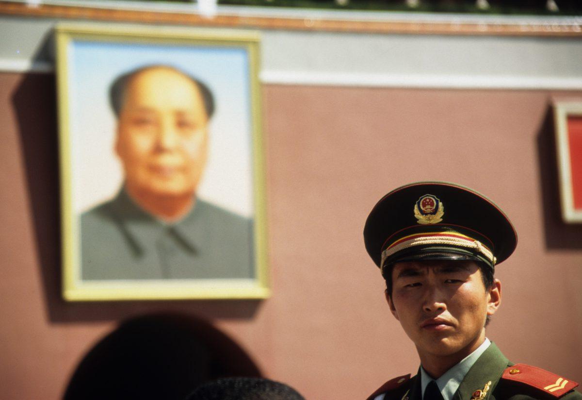 Mao Zedong, landmark, face, work, police, male