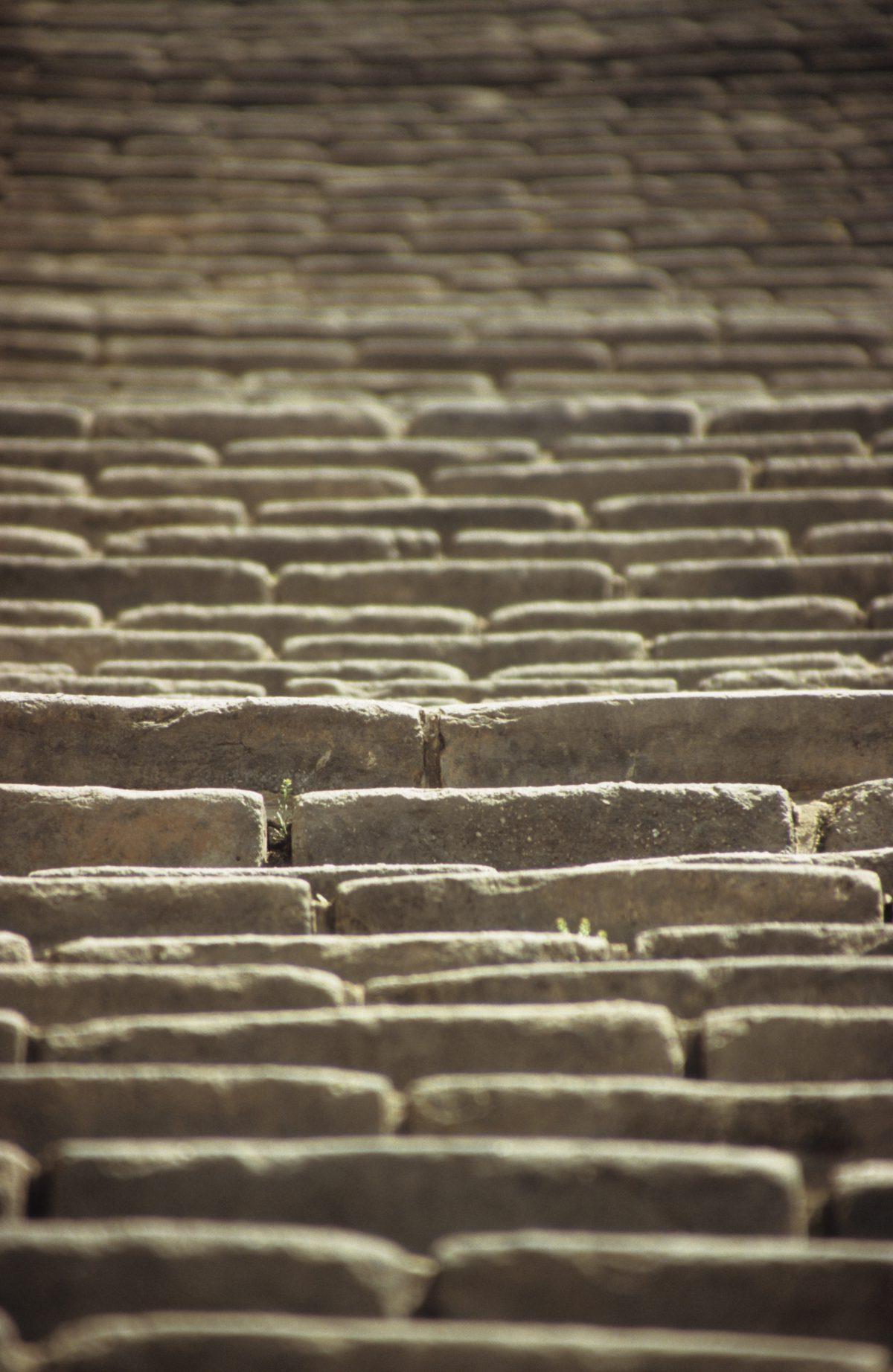 Steep Steps - Great Wall at Simatai, landmark, stair, abstract, many, pattern