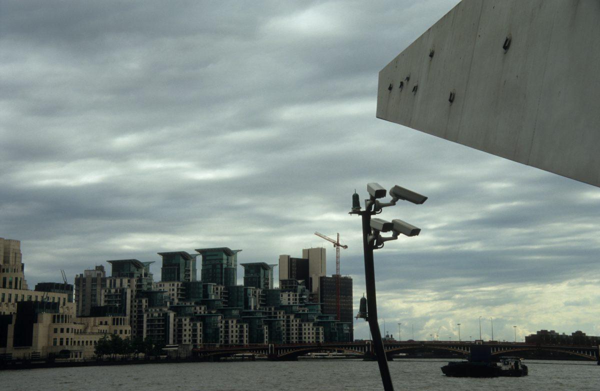 London eyes, skyline, sky, camera, water