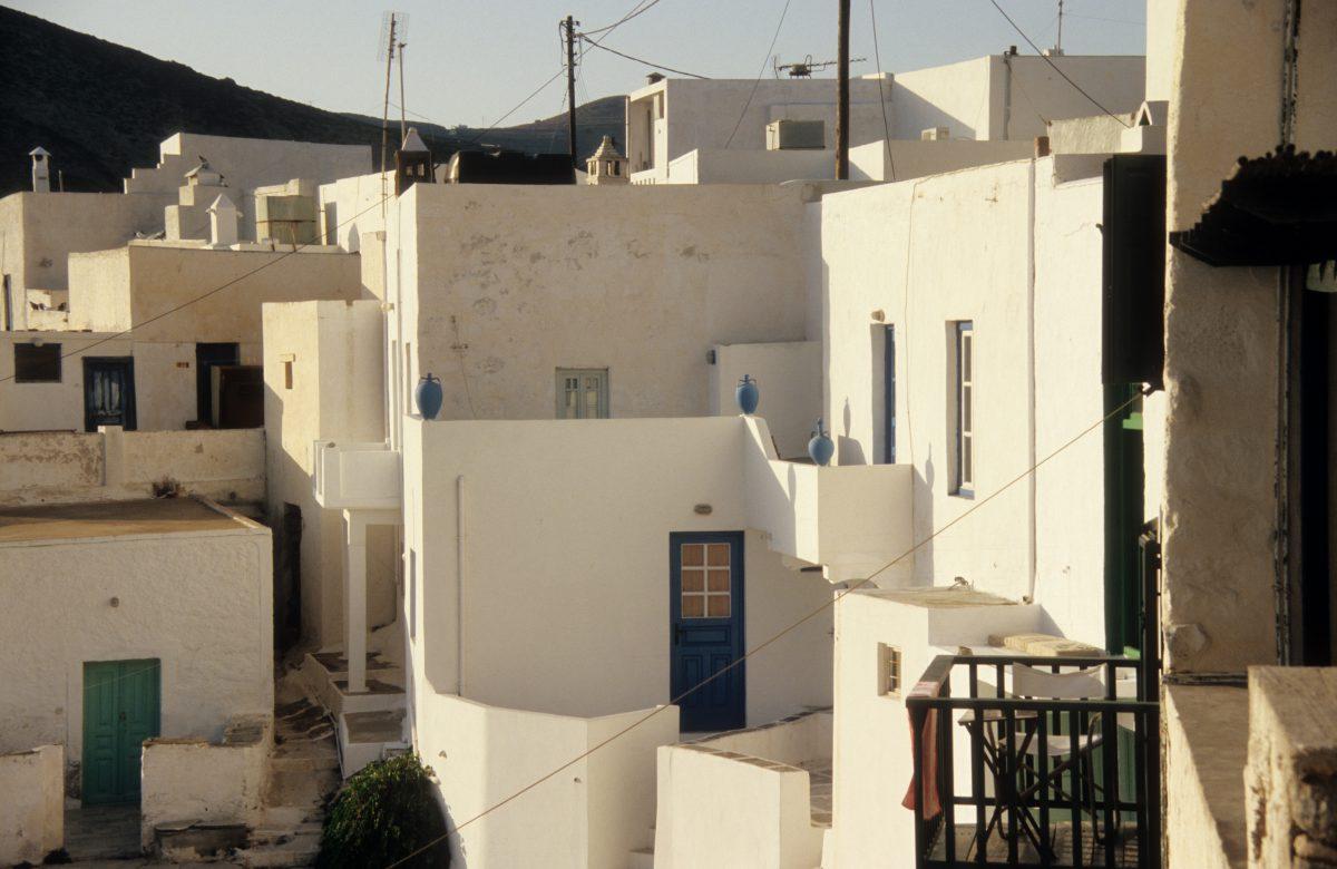 house, village