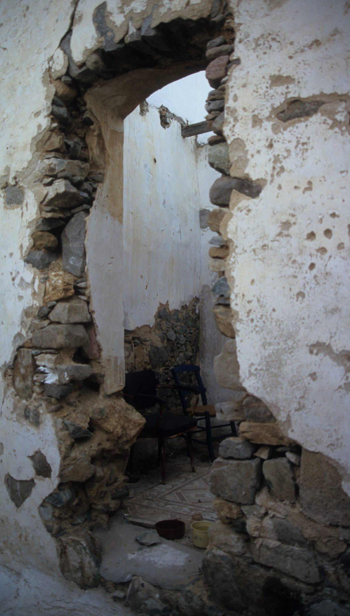 decay, village