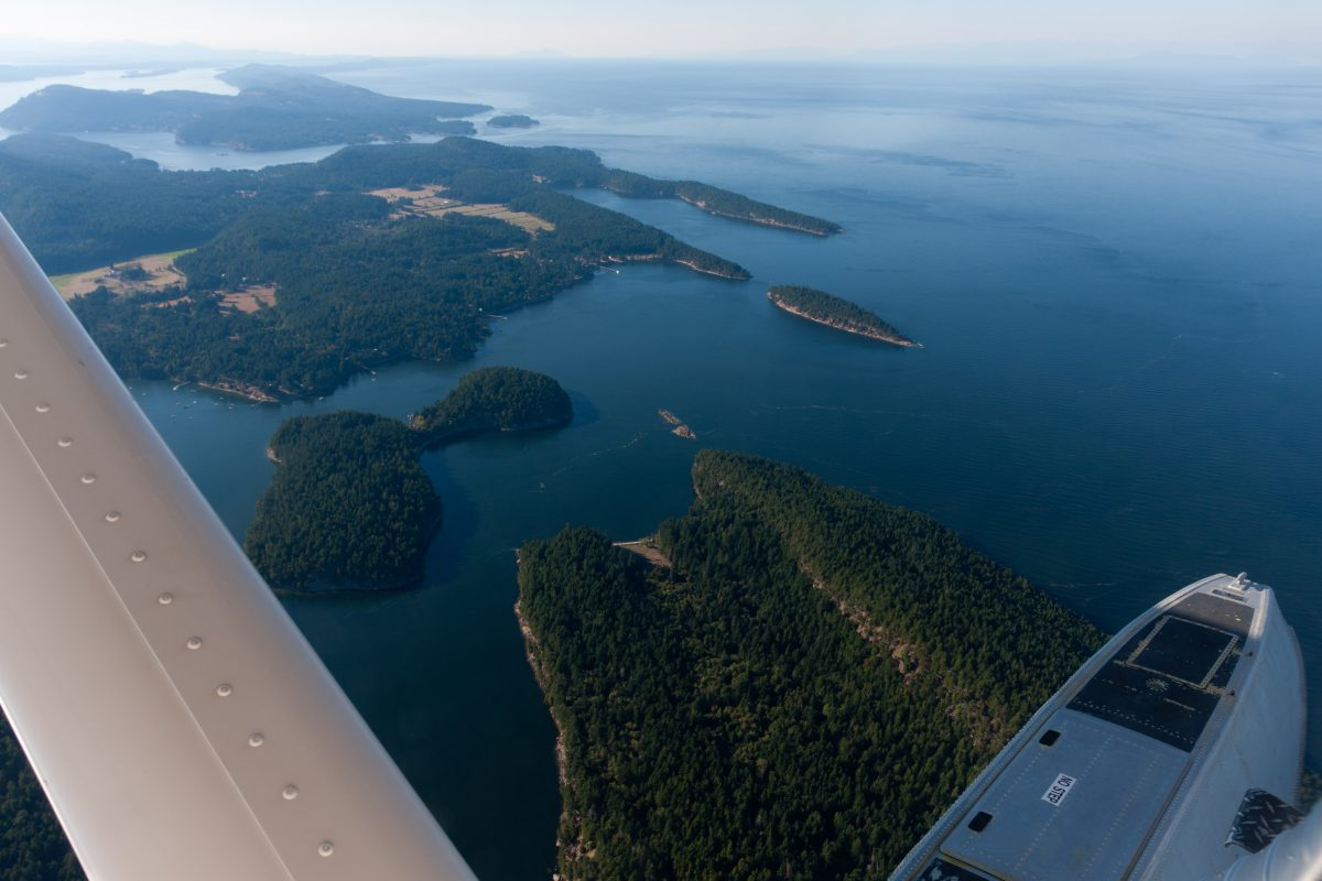 By vancouver Island, sea, water, seaplane, island
