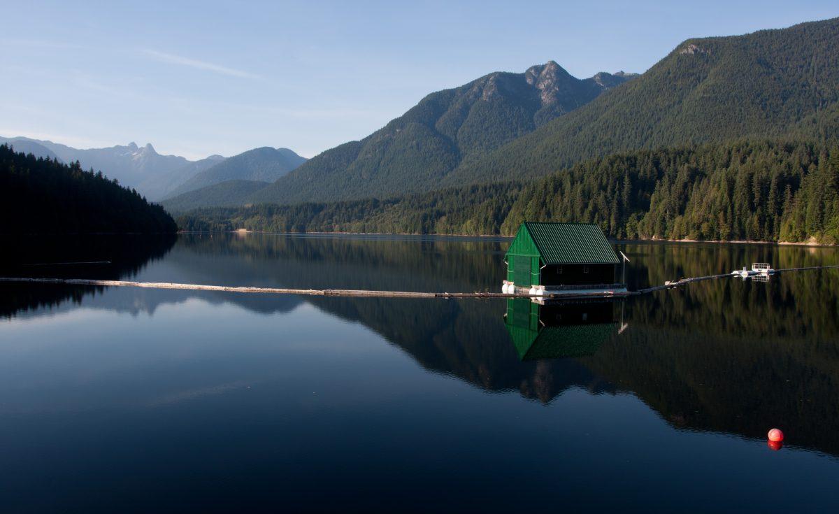 Kapilano, forest, lake
