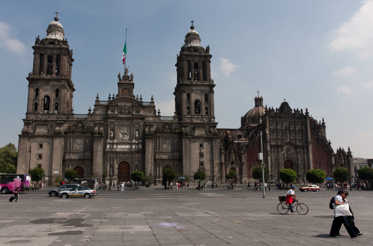 Metropolitan Cathedral - at Zocalo, landmark, building