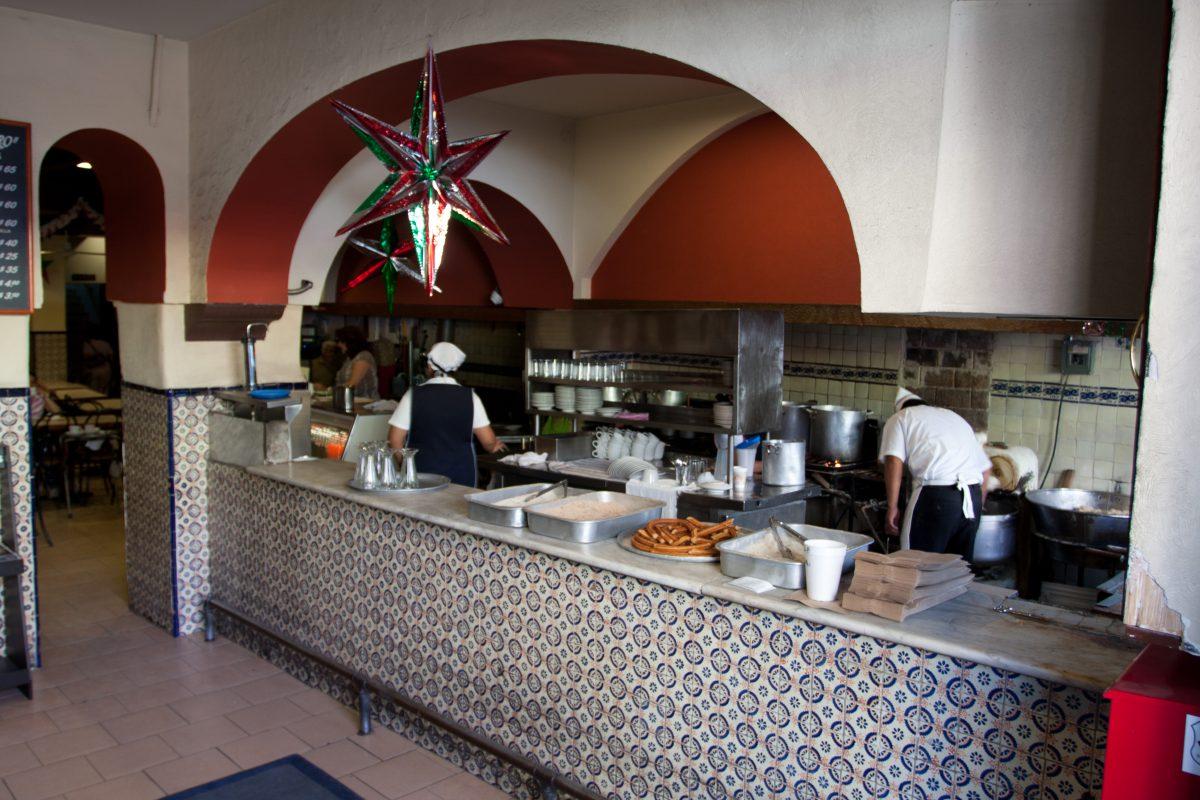 Churros Restaurant, restaurant