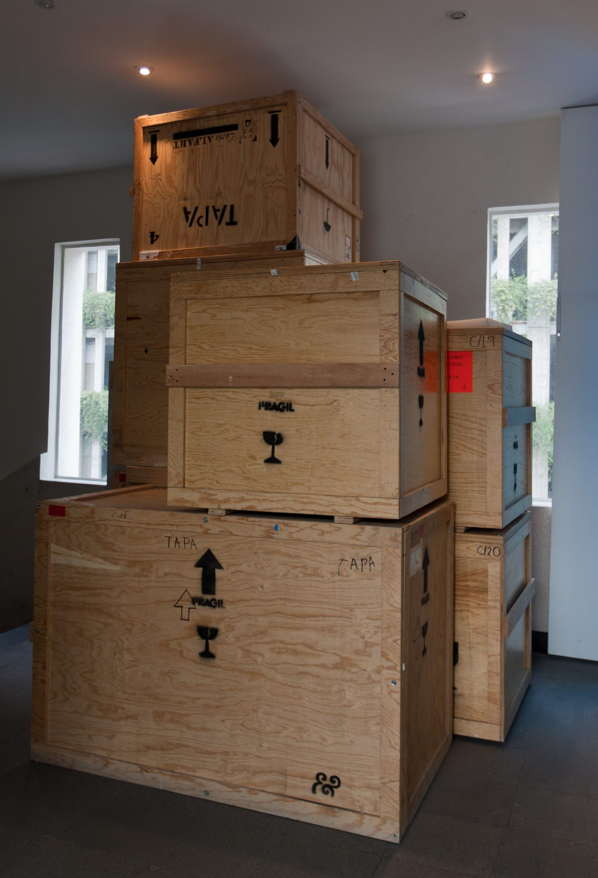 Boxes, museum, box