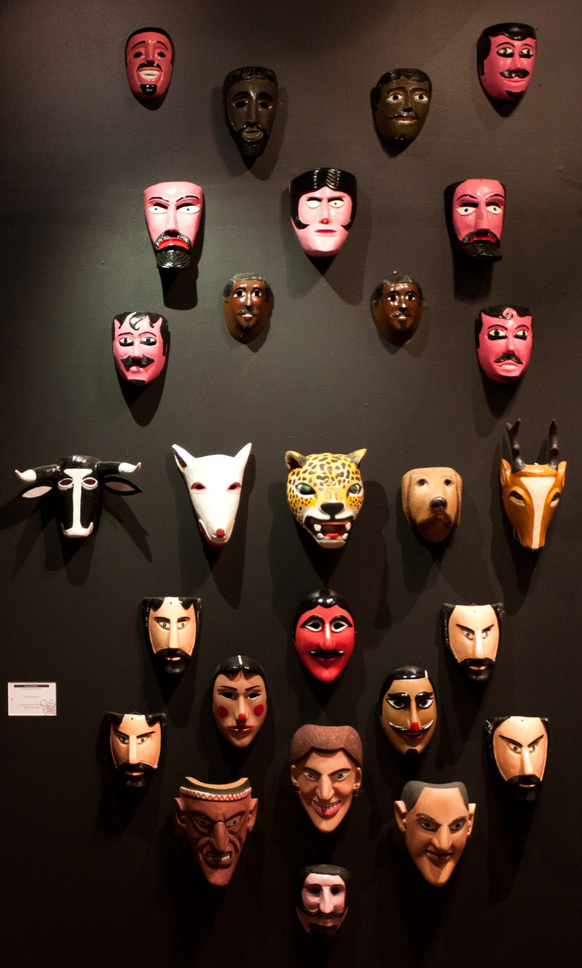Masks - At museo de artes popular, museum, mask