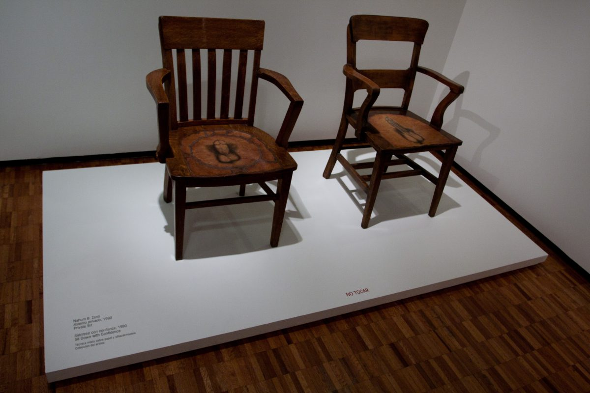 Sit down with confidence - At museo de arte moderno, art, museum