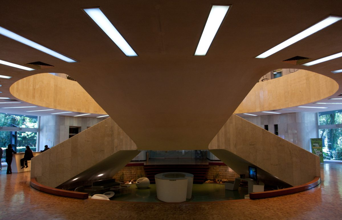 Stair - At museo de arte moderno, museum