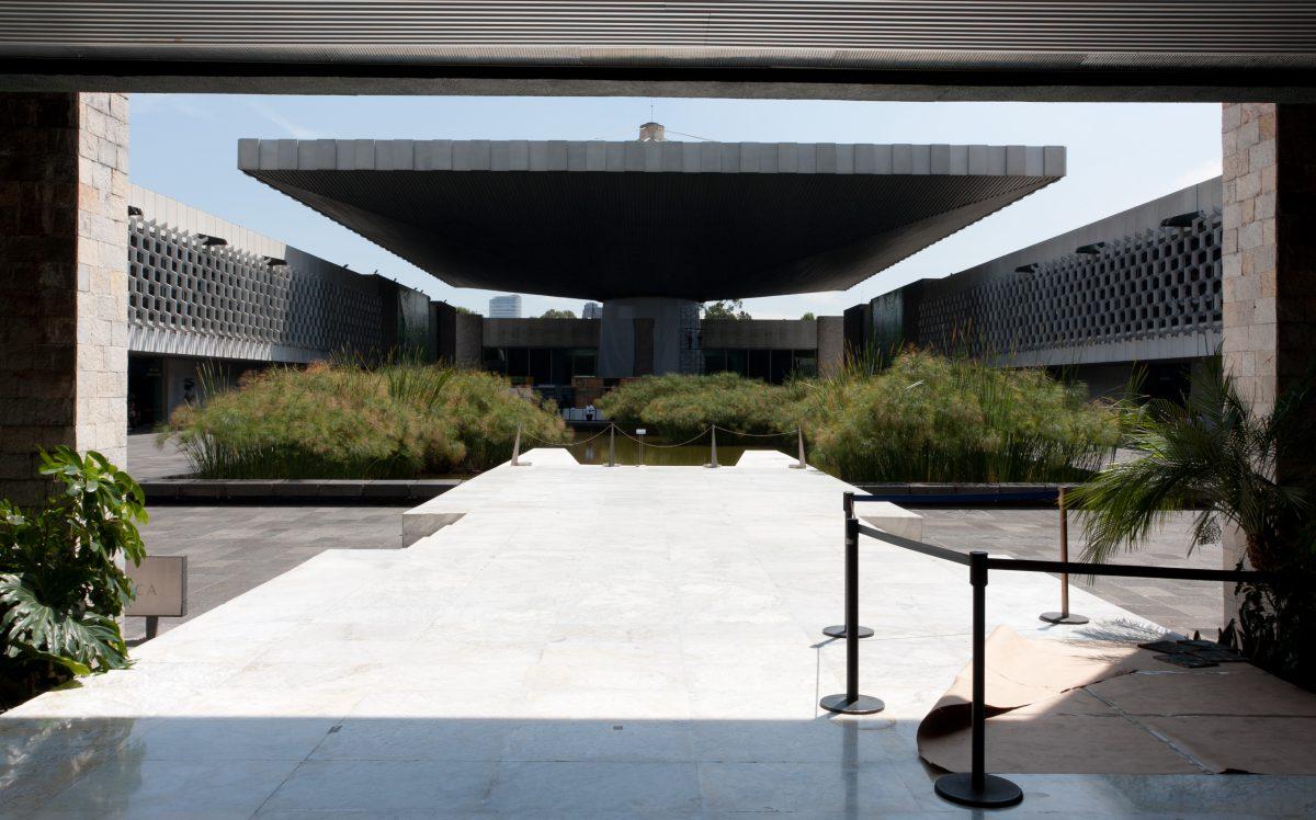 Museo Nacional De Antropologia, building, museum