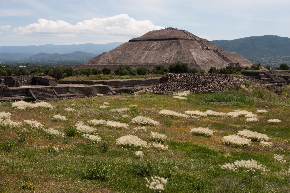 Pyramid of Sun - Teotihuacan, landmark, pyramid
