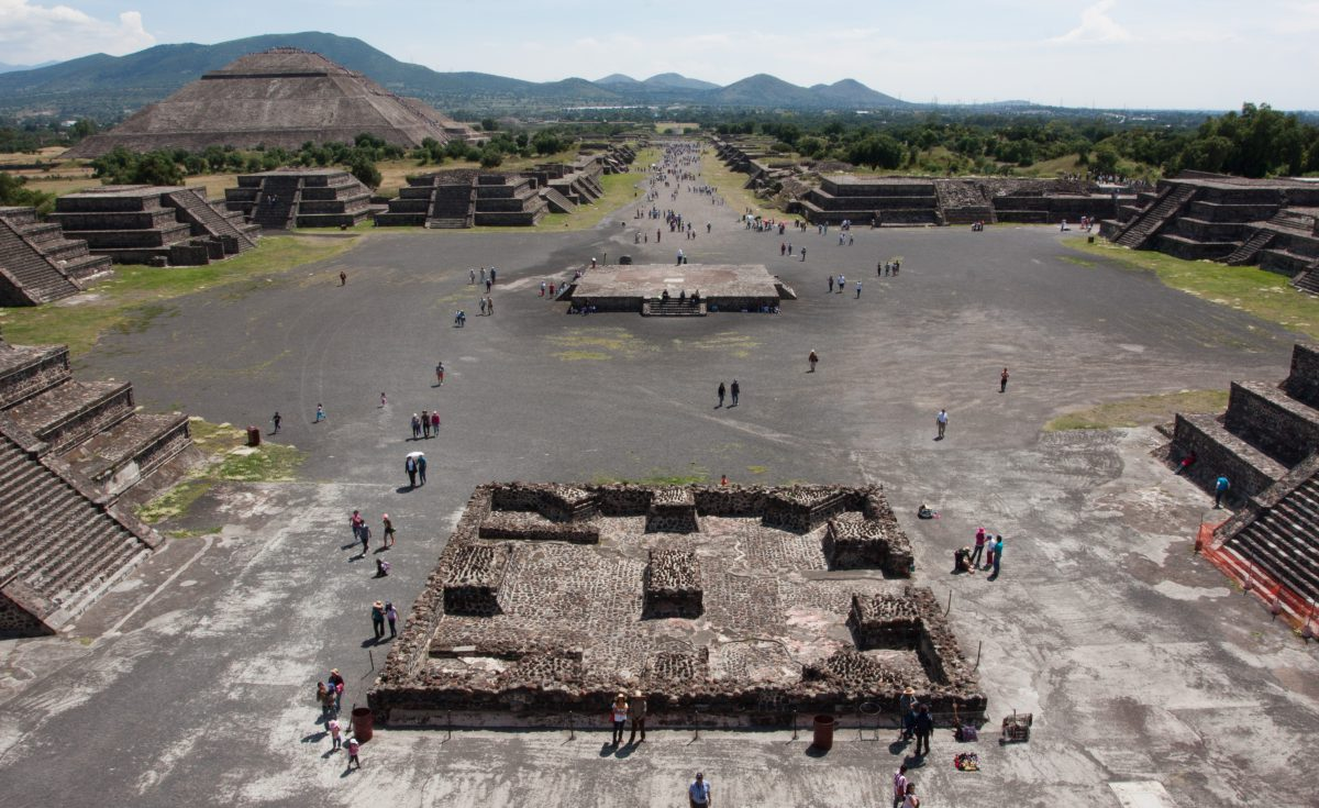 Teotihuacan, landmark, pyramid