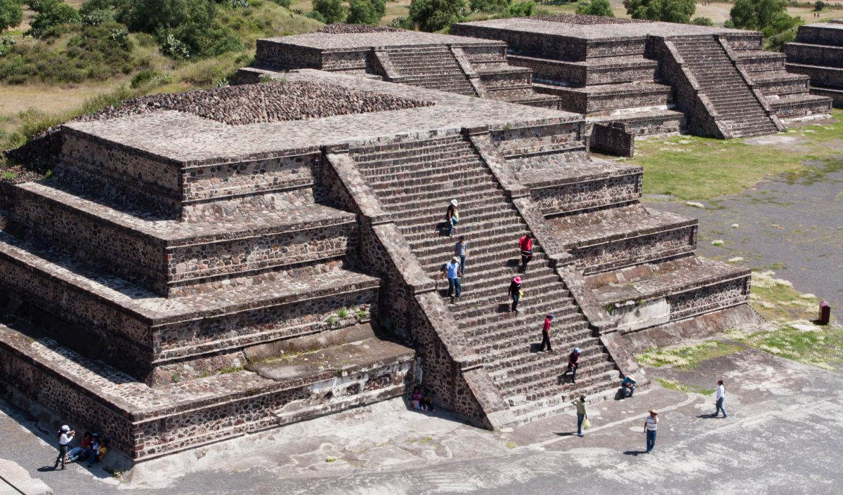 landmark, pyramid
