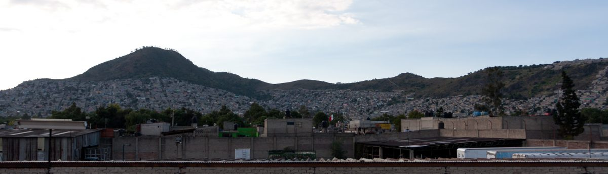 Mexico suburbs, city