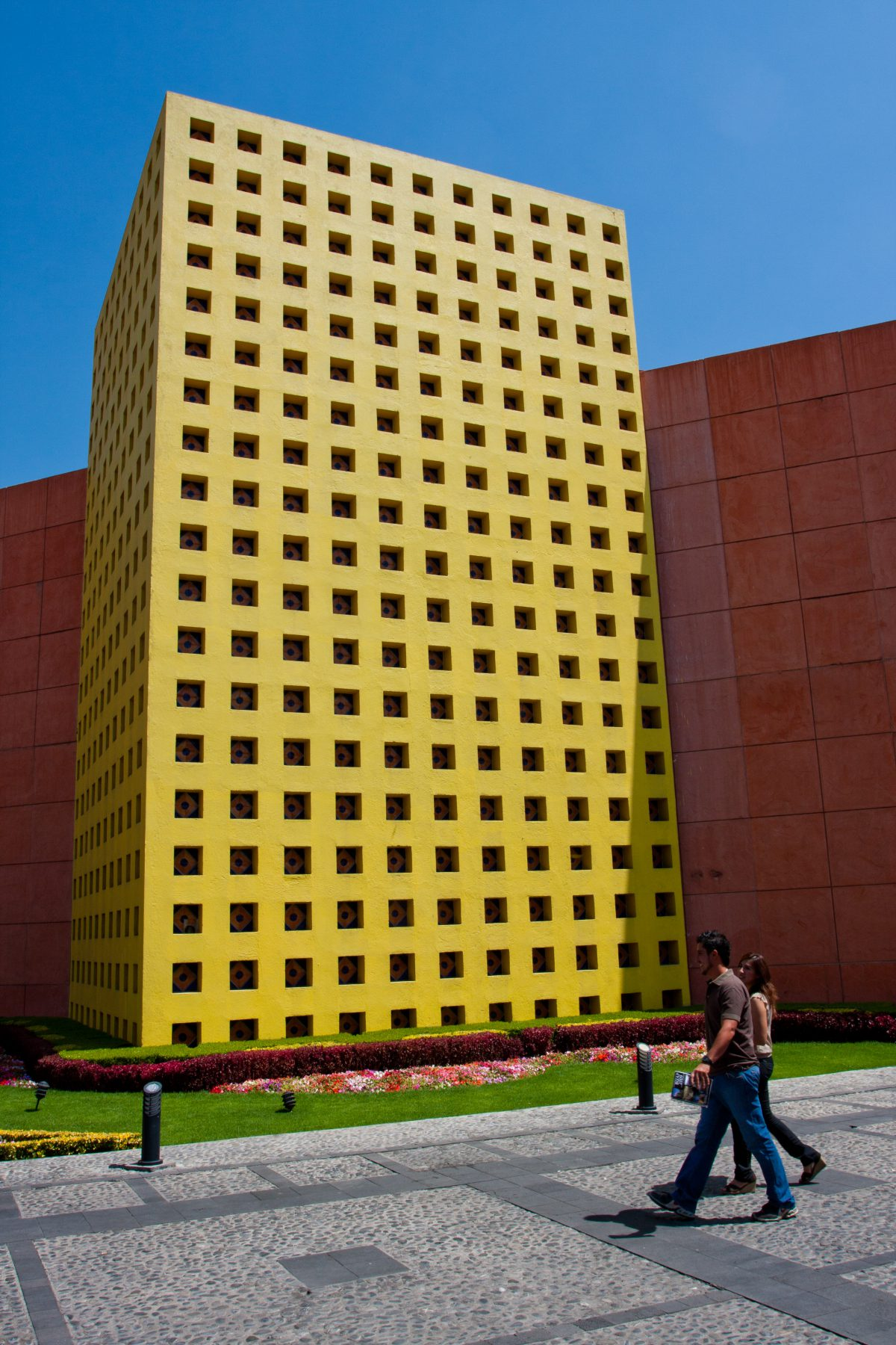 Centro de Convenciones - of Puebla, building, color
