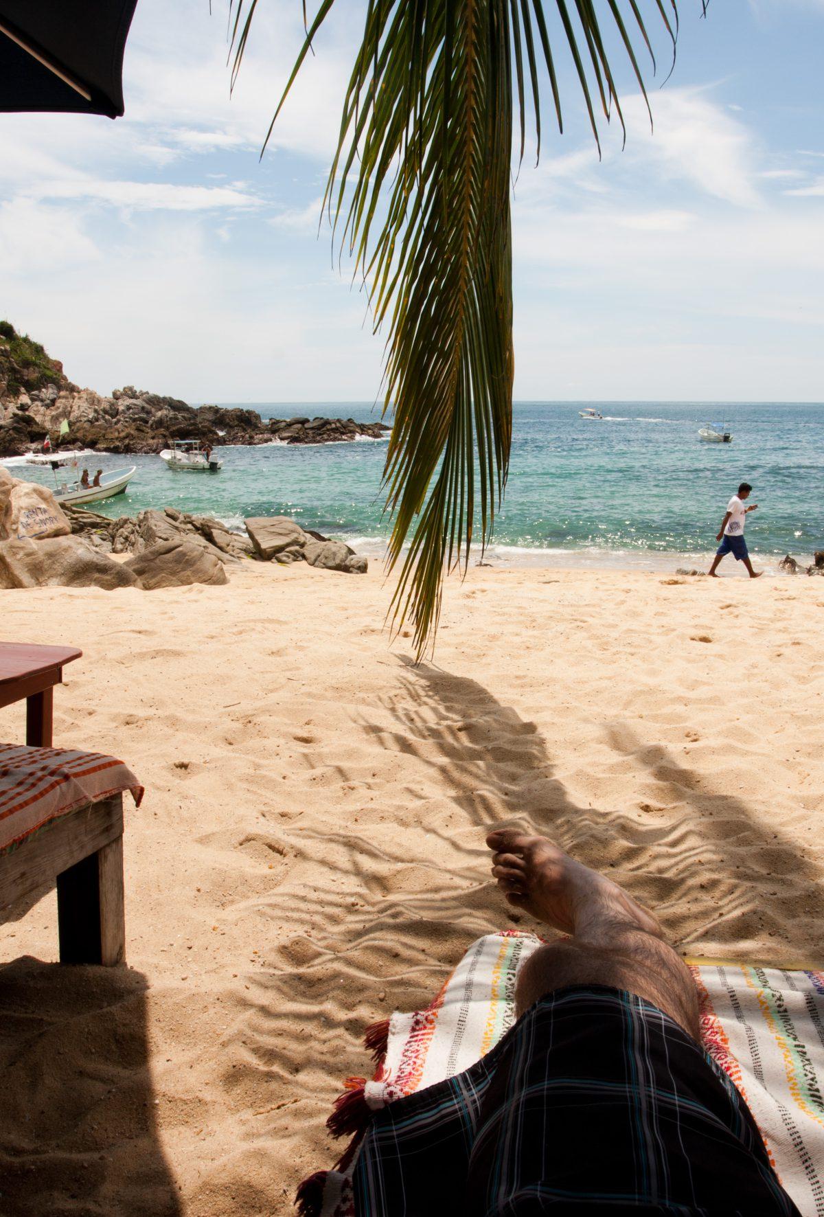 sea, beach, relax
