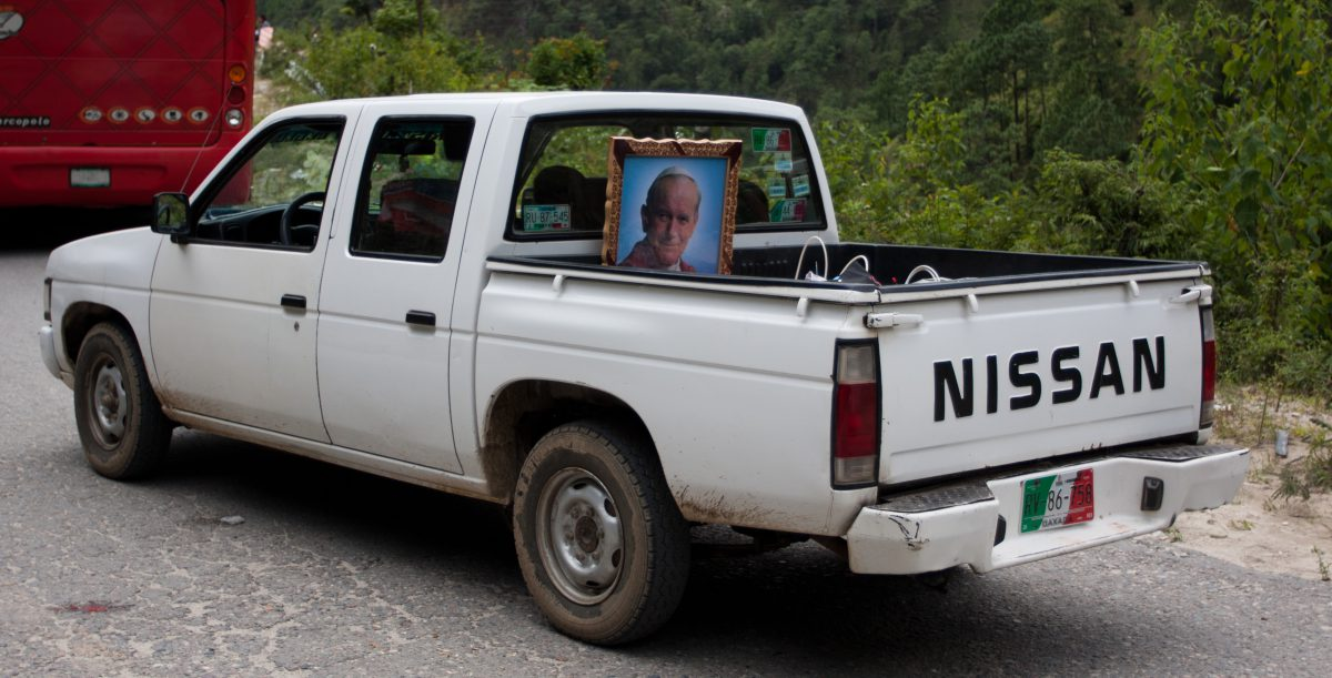 Pope Van, mountain, vehicle