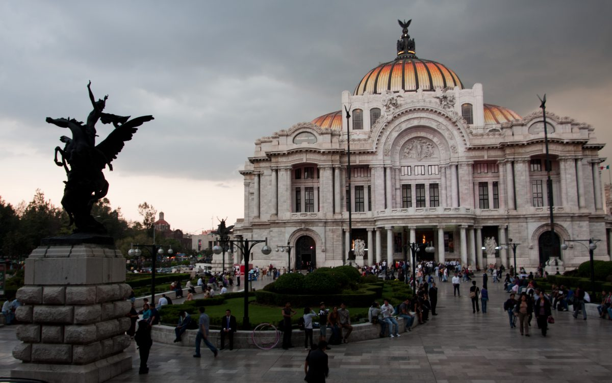 Palacio de Bellas Artes, building, sculpture