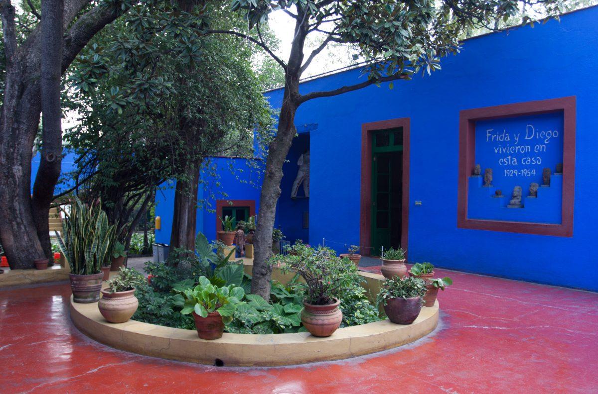 Frida Kalho House, museum, garden