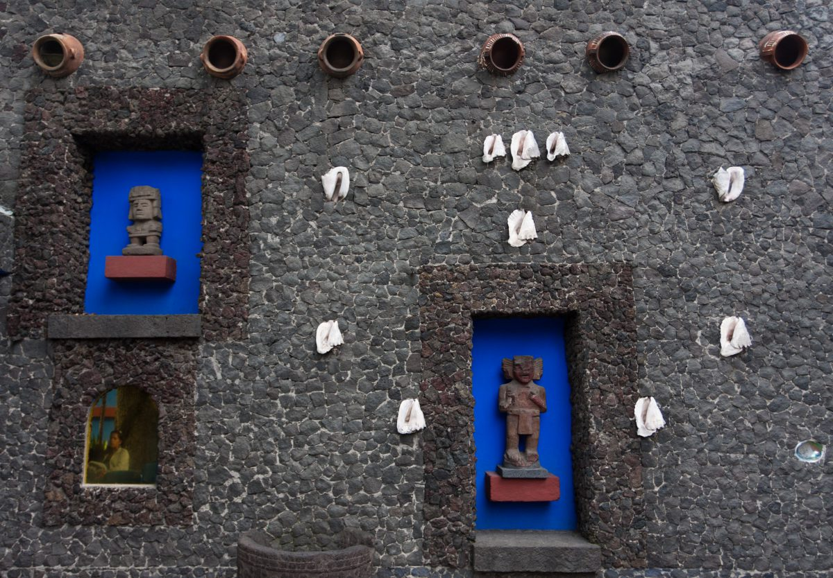 Frida Kalho House, museum, window