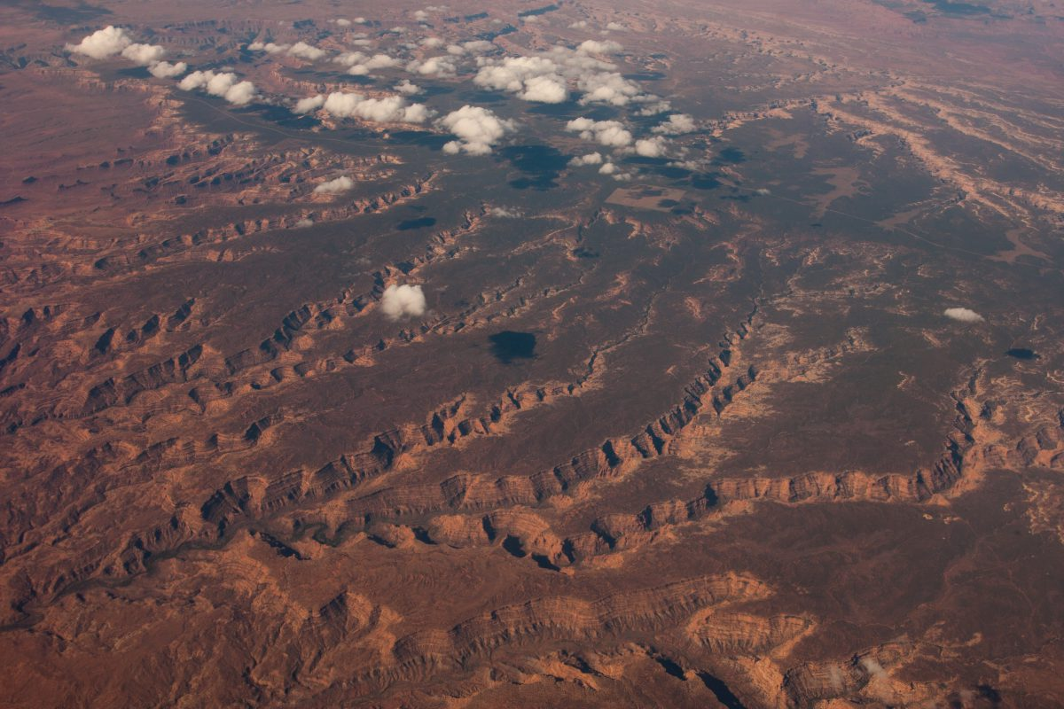 Grand Canyon, flight, cloud