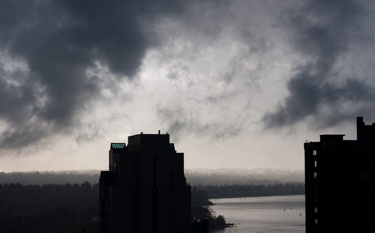 Approaching storm, view, sky, cloud