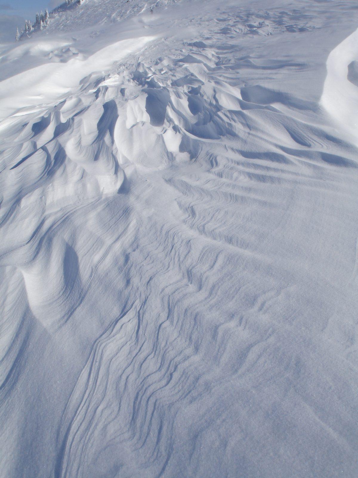 snow, mountain, texture