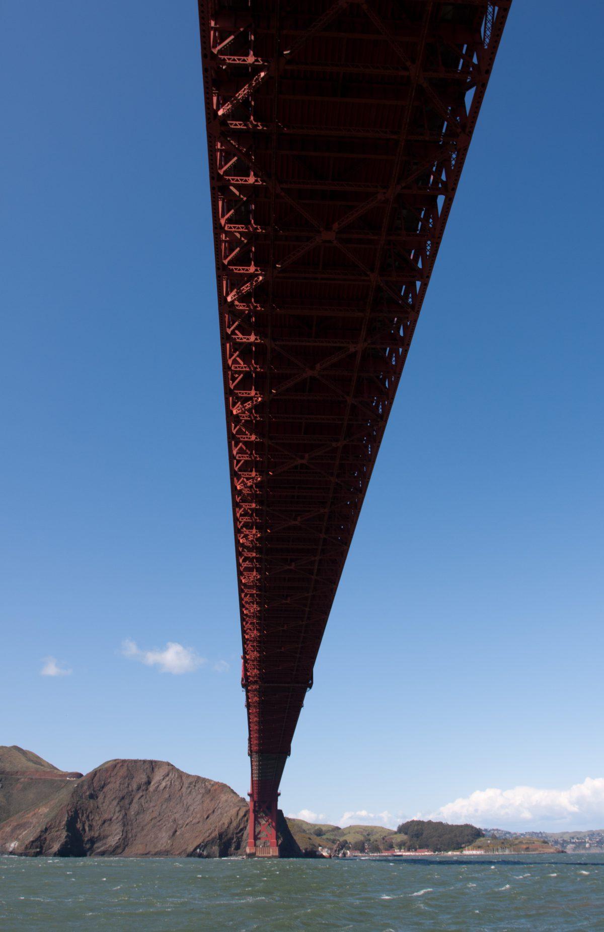 Golden Gate Bridge, sea, bridge