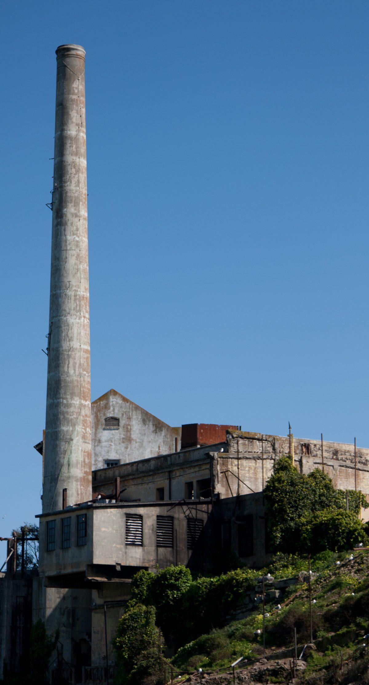 Power plant - of Alcatraz, prison, alcatraz