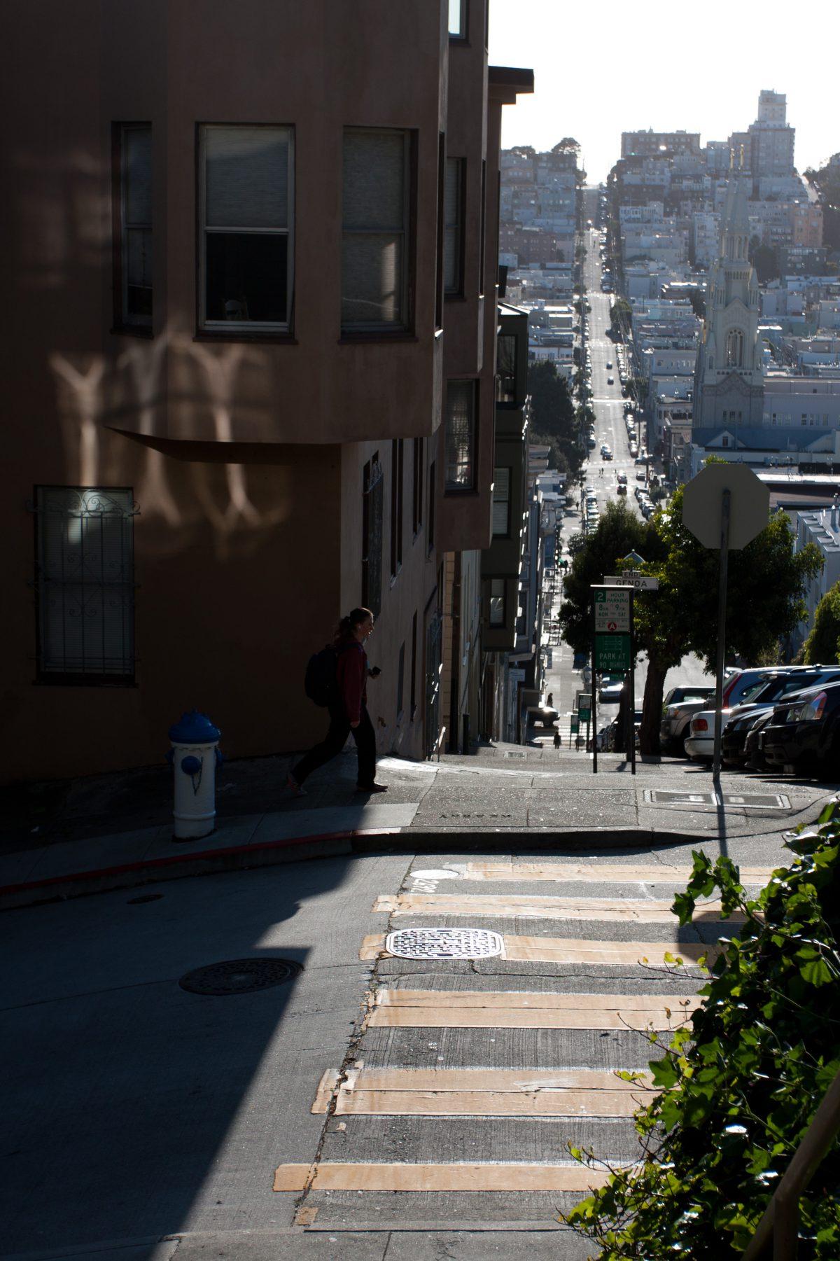 Urban Hills, hill, city, road