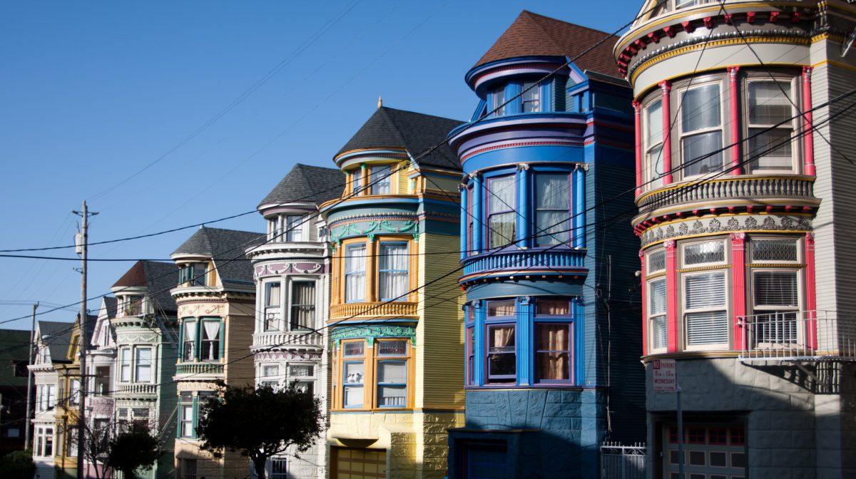 Haight Asbury, building, color, house
